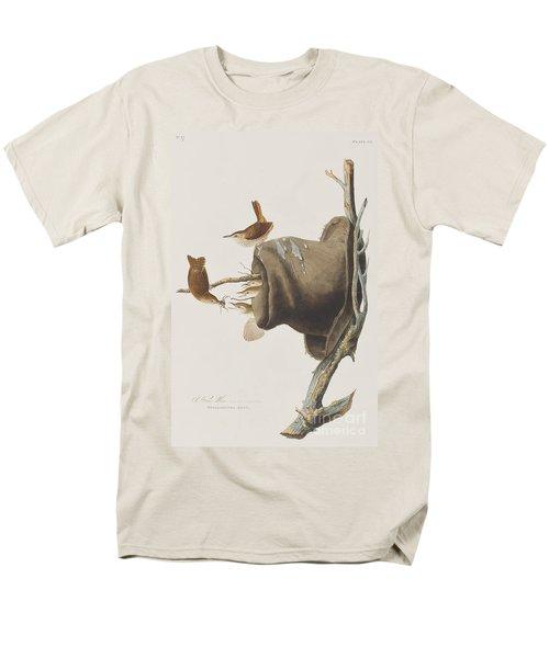 House Wren Men's T-Shirt  (Regular Fit) by John James Audubon