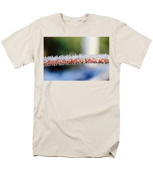 Ice Crystals Men's T-Shirt  (Regular Fit) by Tiffany Erdman