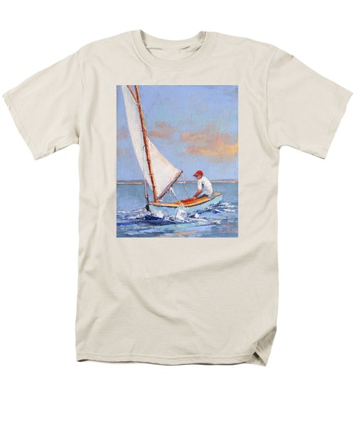 Just Play Men's T-Shirt  (Regular Fit) by Trina Teele