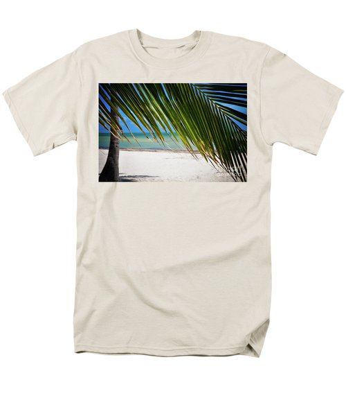 Key West Palm Men's T-Shirt  (Regular Fit) by Kelly Wade