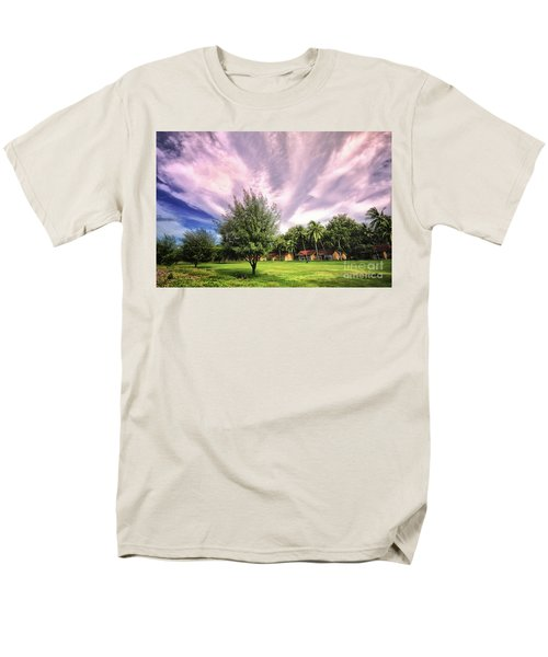 Men's T-Shirt  (Regular Fit) featuring the photograph Landscape  by Charuhas Images
