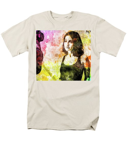 Maria Valverde Men's T-Shirt  (Regular Fit) by Svelby Art