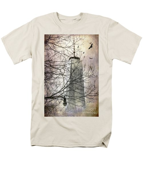Men's T-Shirt  (Regular Fit) featuring the photograph Memorial by Judy Wolinsky
