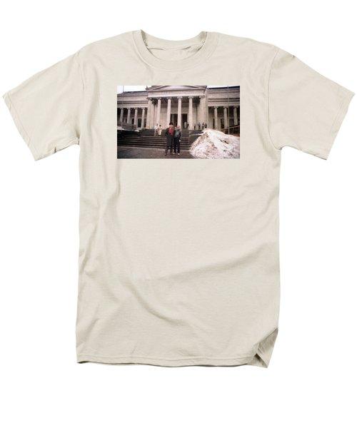 Moscow Consert Hall Men's T-Shirt  (Regular Fit) by Ted Pollard