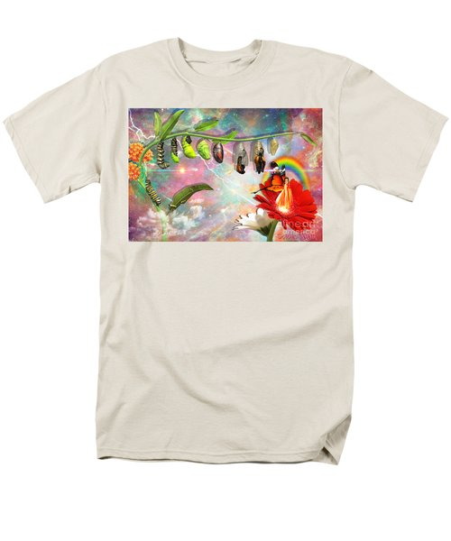 Men's T-Shirt  (Regular Fit) featuring the digital art New Life by Dolores Develde