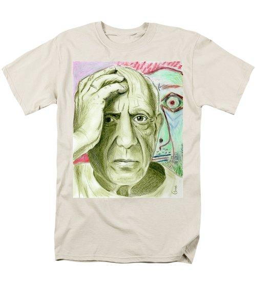 Pablo Piccaso Men's T-Shirt  (Regular Fit) by Yoshiko Mishina