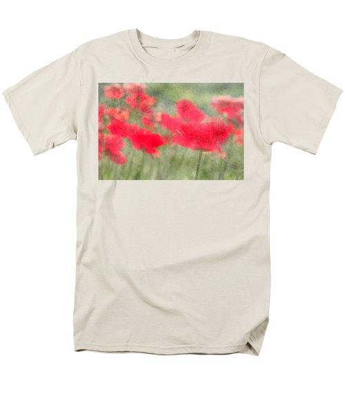 Poppies Men's T-Shirt  (Regular Fit) by Catherine Alfidi