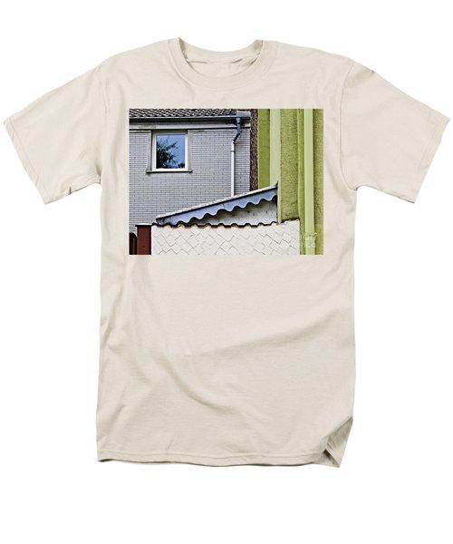 Schierstein Geometrics 2 Men's T-Shirt  (Regular Fit) by Sarah Loft