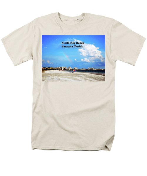 Siesta Beach Men's T-Shirt  (Regular Fit) by Gary Wonning