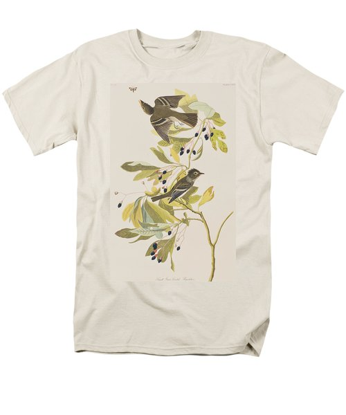Small Green Crested Flycatcher Men's T-Shirt  (Regular Fit) by John James Audubon
