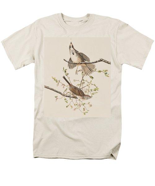 Song Sparrow Men's T-Shirt  (Regular Fit) by John James Audubon