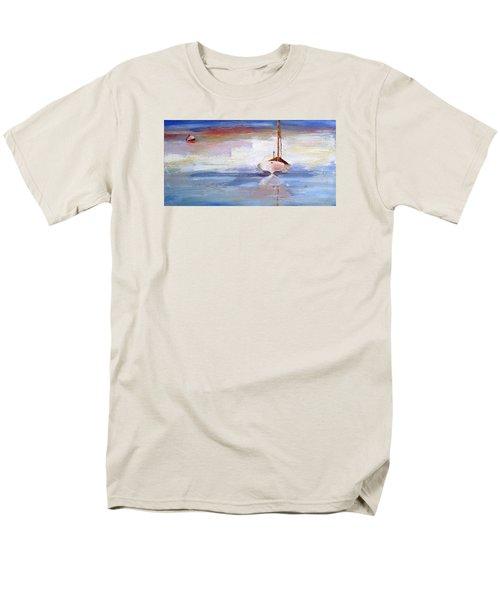 Stillness Men's T-Shirt  (Regular Fit) by Trina Teele
