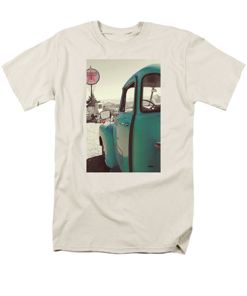 Men's T-Shirt  (Regular Fit) featuring the photograph Techatticup Mine Ghost Town Nv by Marti Green