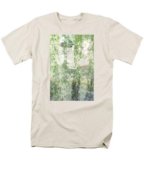 Through The Willows Men's T-Shirt  (Regular Fit) by Linda Geiger