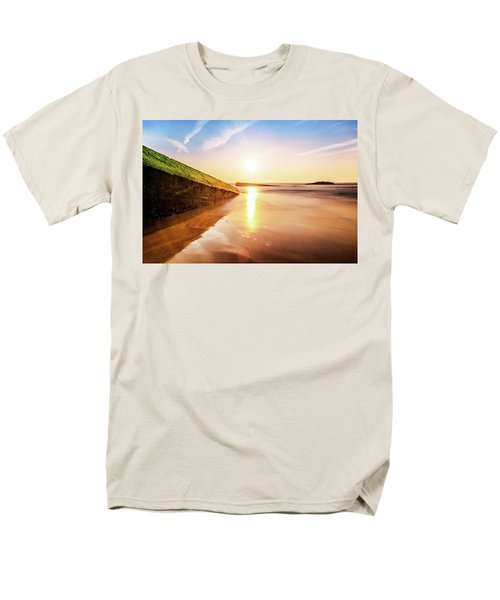 Men's T-Shirt  (Regular Fit) featuring the photograph Touching The Golden Cloud by Thierry Bouriat