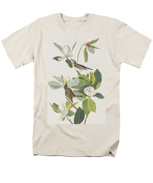 Warbling Flycatcher Men's T-Shirt  (Regular Fit) by John James Audubon