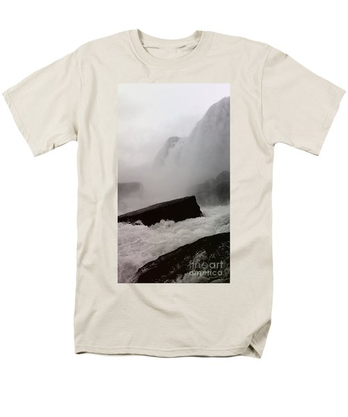 Waterfall Men's T-Shirt  (Regular Fit) by Raymond Earley