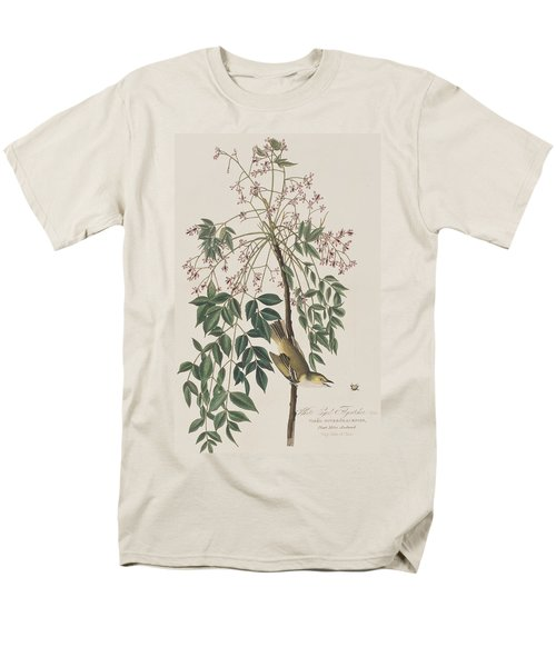 White-eyed Flycatcher Men's T-Shirt  (Regular Fit) by John James Audubon