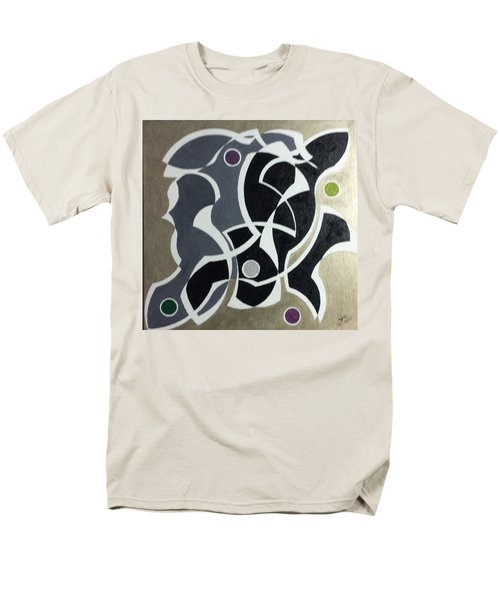 Men's T-Shirt  (Regular Fit) featuring the painting Winter by Hang Ho