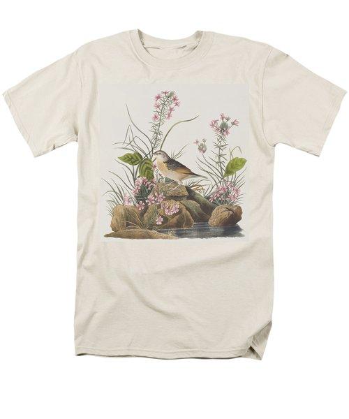 Yellow-winged Sparrow Men's T-Shirt  (Regular Fit) by John James Audubon