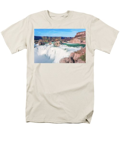 10917 Shoshone Falls Men's T-Shirt  (Regular Fit) by Pamela Williams