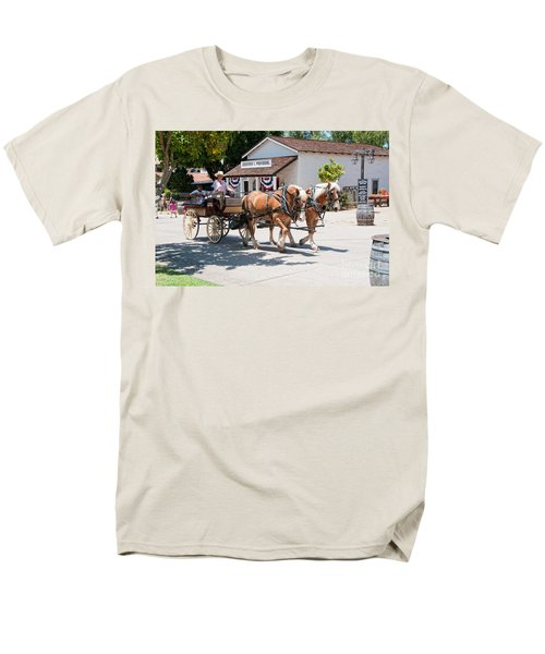Old Town San Diego Men's T-Shirt  (Regular Fit) by Carol Ailles