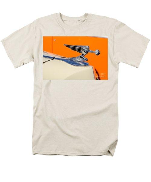 Men's T-Shirt  (Regular Fit) featuring the photograph 1936 Packard Hood Ornament by Aloha Art