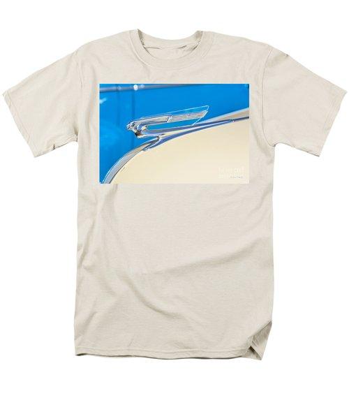 Men's T-Shirt  (Regular Fit) featuring the photograph 1941 Chevy Hood Ornament by Aloha Art
