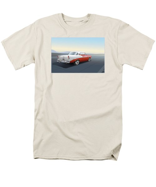 1956 Chevrolet Bel Air Men's T-Shirt  (Regular Fit) by Marty Garland