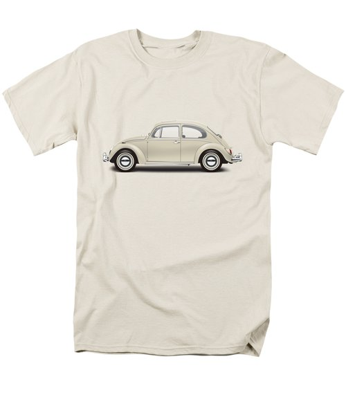 1965 Volkswagen 1200 Deluxe Sedan - Panama Beige Men's T-Shirt  (Regular Fit)