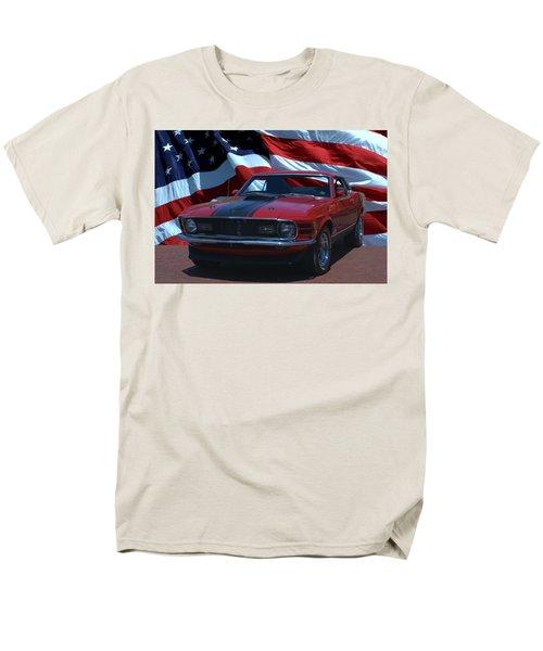 1970 Mustang Mach I Men's T-Shirt  (Regular Fit) by Tim McCullough