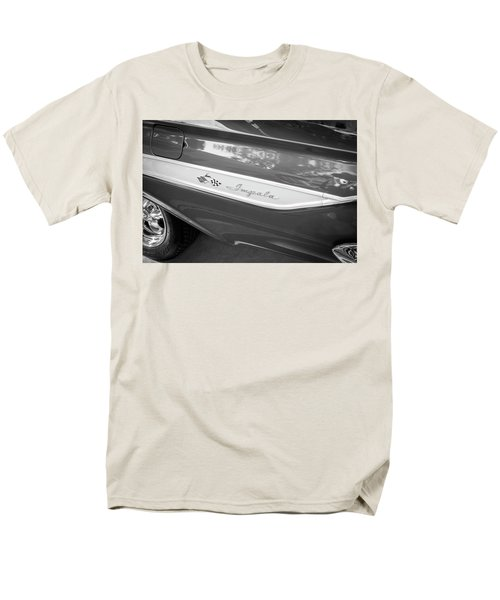 1961 Chevrolet Impala Ss Bw Men's T-Shirt  (Regular Fit) by Rich Franco