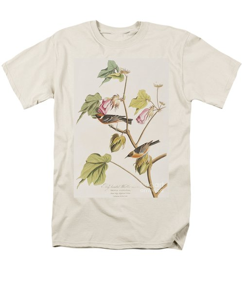 Bay Breasted Warbler Men's T-Shirt  (Regular Fit) by John James Audubon