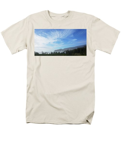 Cape Lookout Men's T-Shirt  (Regular Fit) by Angi Parks