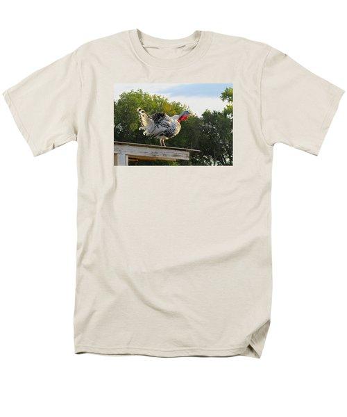 Gobble Gobble Men's T-Shirt  (Regular Fit) by Brenda Pressnall