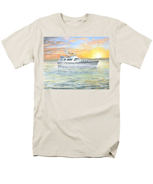 Men's T-Shirt  (Regular Fit) featuring the painting Untitled by Bob George