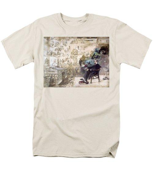 Charles Dickens (1812-1870) Men's T-Shirt  (Regular Fit) by Granger