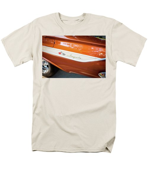 Men's T-Shirt  (Regular Fit) featuring the photograph 1961 Chevrolet Impala Ss  by Rich Franco
