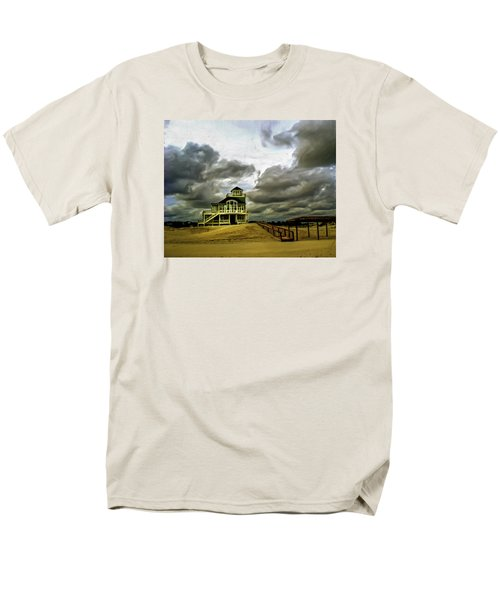 House At The End Of The Road Men's T-Shirt  (Regular Fit) by Gordon Engebretson