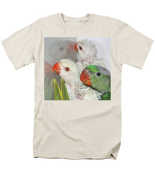 Men's T-Shirt  (Regular Fit) featuring the photograph 3 Is Company 4 Is A Crowd by Debbie Stahre