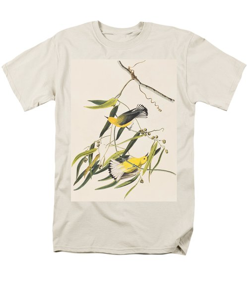 Prothonotary Warbler Men's T-Shirt  (Regular Fit)