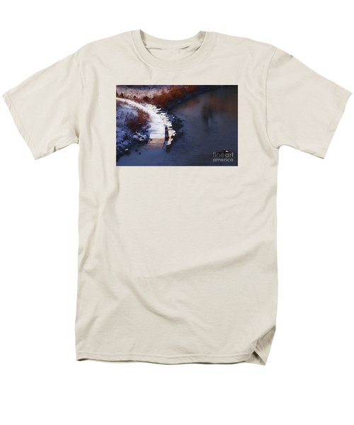 33rd And Canal Men's T-Shirt  (Regular Fit) by David Blank
