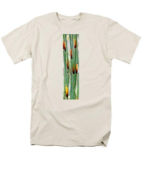 Men's T-Shirt  (Regular Fit) featuring the photograph Bamboo Grass by Werner Lehmann