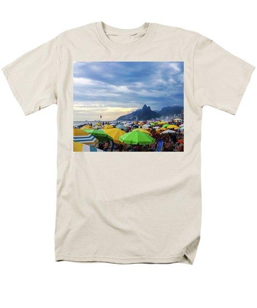 Rio De Janeiro Men's T-Shirt  (Regular Fit) by Cesar Vieira