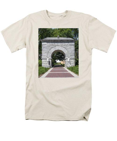 Camp Randall Memorial Arch - Madison Men's T-Shirt  (Regular Fit) by Steven Ralser