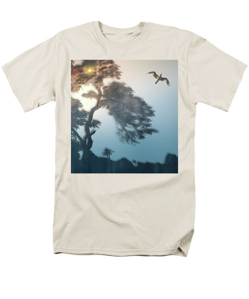 Men's T-Shirt  (Regular Fit) featuring the photograph 4408 by Peter Holme III