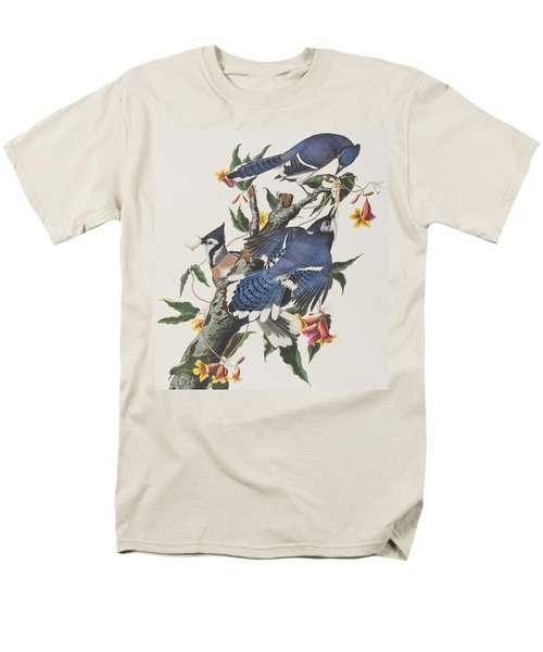 Blue Jay Men's T-Shirt  (Regular Fit) by John James Audubon
