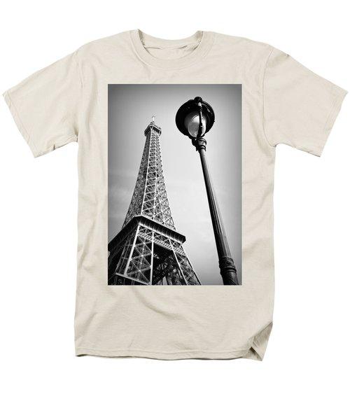 Men's T-Shirt  (Regular Fit) featuring the photograph Eiffel Tower by Chevy Fleet