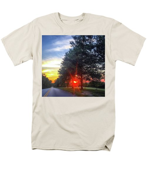 Men's T-Shirt  (Regular Fit) featuring the photograph 9 June 16 Rowing Club by Toni Martsoukos