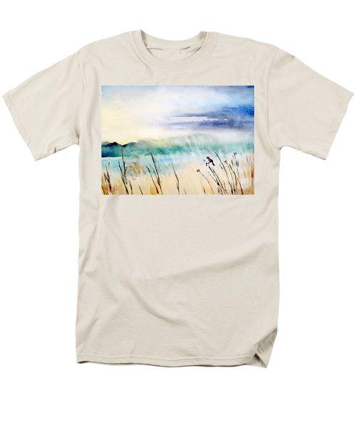 A Bird In Swamp Men's T-Shirt  (Regular Fit) by Yoshiko Mishina